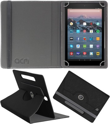 ACM Flip Cover for Amazon Fire Hd 10 2017(Black, Cases with Holder)
