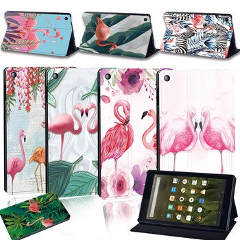 Tablet Case For Amazon Fire 7 5/7/9th/Fire HD 8 6/7/8th/Fire HD 10 5/7/9th Smart Cover Case Tablet Flip Stand Tablet Accessories