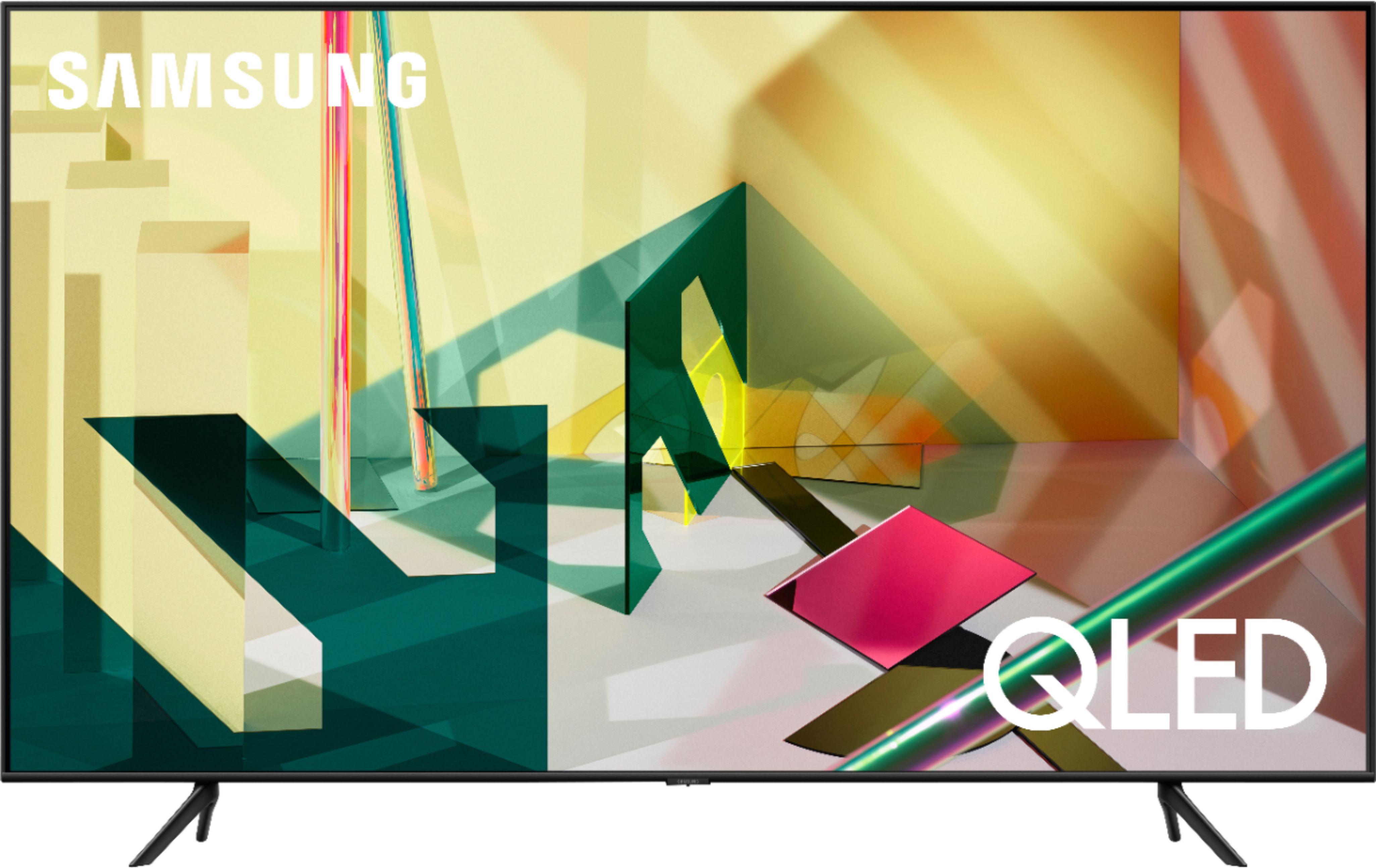 """Samsung - 55"""" Class Q70T Series LED 4K UHD Smart Tizen TV"""